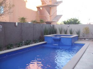 Pool Area at Hotel